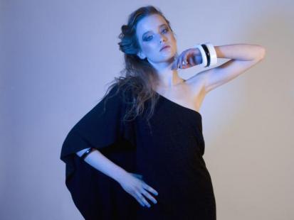 New Folk Design  i solar - wyjątkowa sukienka