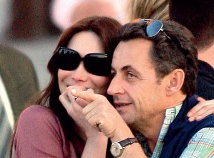 Nicolas Sarkozy i Carla Bruni