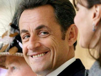 Nicolas Sarkozy uprawia jogging