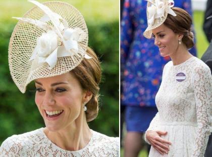 Nie chcemy wprowadzać w błąd i siać plotek, ale... Co oznacza TEN GEST księżnej Kate?