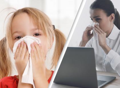 Nie godzimy się na chore dzieci w szkole. Na chorych współpracowników też!