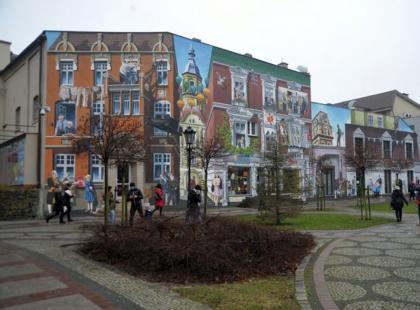 Nie Paryż, nie Mediolan, nie Berlin. Piękny mural zdobi polskie miasto, które teraz odwiedzają tłumy