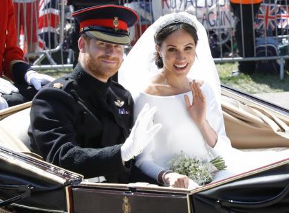 Nie tylko bukiet! Zobacz, jak Meghan i Harry uczcili na swoim ślubie pamięć o Lady Di