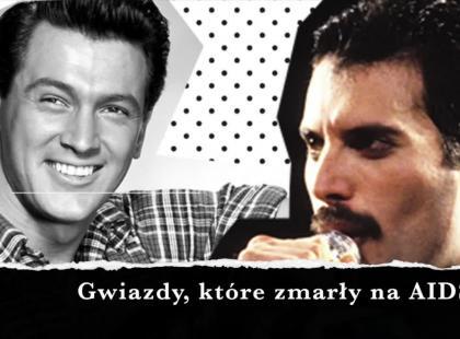 Nie tylko Freddie Mercury. 1 grudnia wspominamy gwiazdy, które zabrało AIDS