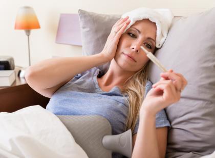 Nie tylko przeziębienie i grypa… Co jeszcze może oznaczać gorączka?