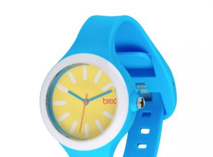 Niebiesko-żółty zegarek - Breo