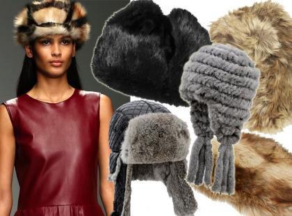 Niech stanie się ciepło: 18 futrzanych czapek od 49 złotych