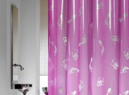 Niecodzienne zasłony prysznicowe