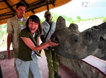 Niepełnosprawna Magda zdobywa Afrykę (galeria)