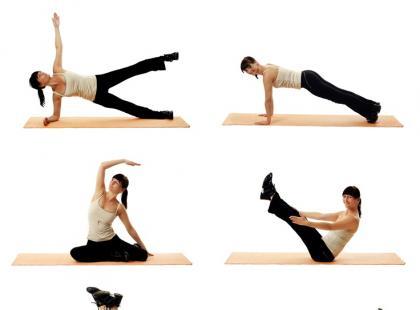Niestandardowe ćwiczenia na talię i brzuch (galeria)