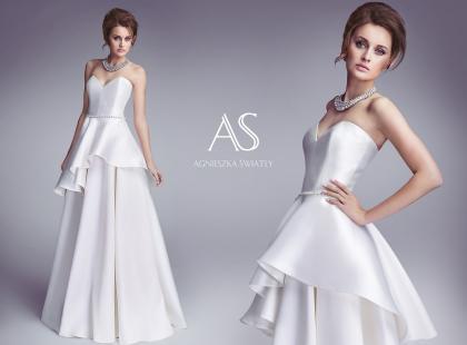 Nietuzinkowe suknie Agnieszki Światły