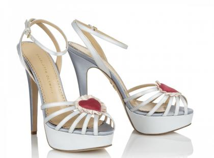 Nietypowe buty ślubne Charlotte Olympia