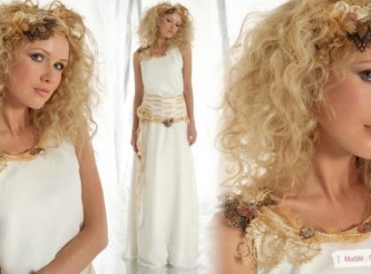 Nietypowe sukienki ślubne Elsa Gary 2012