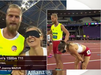 Niewidoma Polka zdobyła mistrzostwo świata w biegu na 1500 metrów!