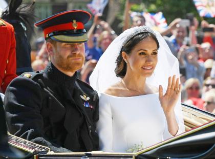 """""""Nigdy nie podnoś ręki na moją córkę"""" - ojciec Meghan Markle i książę Harry przed ślubem odbyli męską rozmowę"""