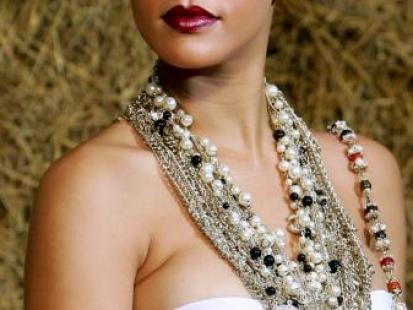 Noś perły jak Rihanna