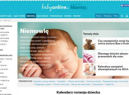 Nowa odsłona serwisu babyonline.pl!