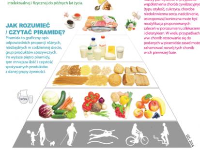 Nowa Piramida Zdrowego Żywienia – co się zmieniło?