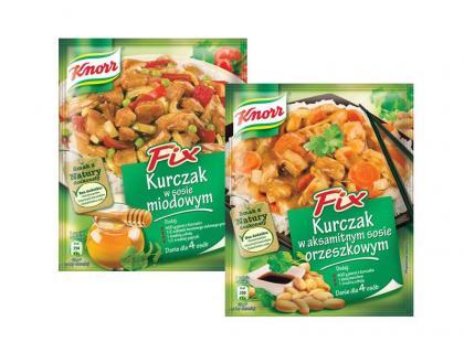 Nowe Fixy Knorra do kurczaka