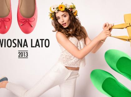 Nowe kolekcje - baleriny i mokasyny na wiosnę 2013
