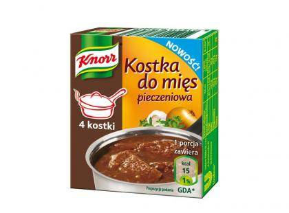 Nowe kostki do mięs Knorra