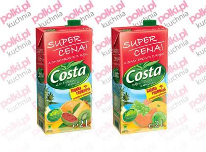 Nowe, rajskie smaki napojów Costa