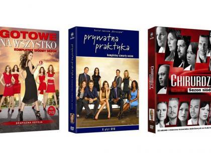 Nowe sezony kultowych seriali na DVD