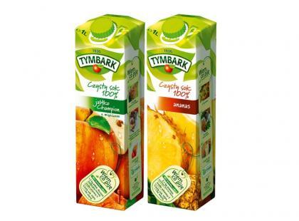 Nowe smaki soków Tymbark