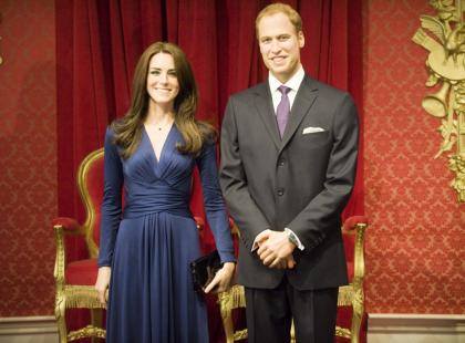 Nowe woskowe figury Kate Middleton i księcia Williama