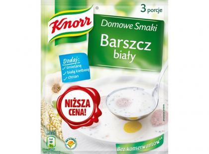 Nowe żurki i barszcz biały od Knorra