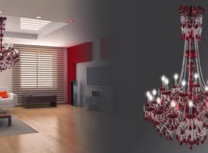 Nowoczesne kryształy - Lamp i Iris Cristal