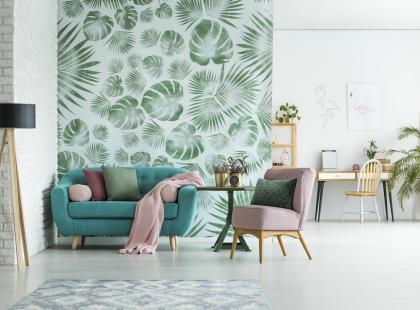 Nowoczesne tapety i obrazy na ścianę - tak się teraz dekoruje mieszkania!