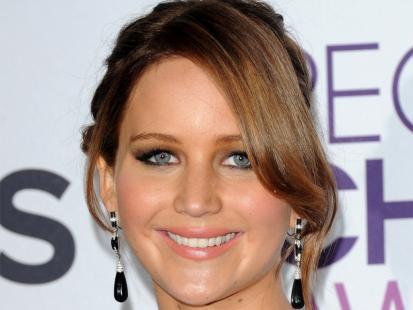 Nowoczesne upięcie jak u Jennifer Lawrence