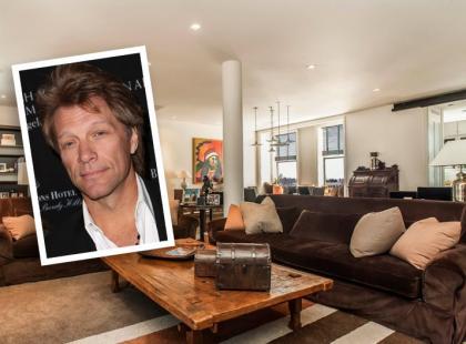 Nowojorski apartament Jona Bon Jovi