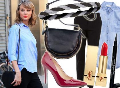 Nowojorski look w stylu Taylor Swift