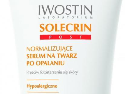 Nowość Iwostin - kosmetyki Solecrin Post