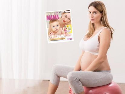 NOWOŚĆ! Książka z DVD z treningiem dla mam i kobiet w ciąży