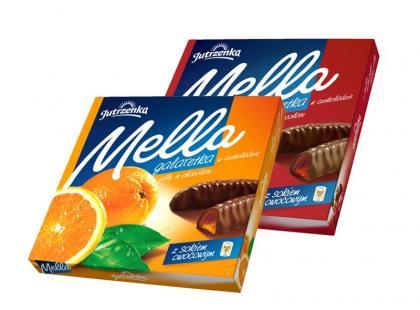Nowość! Mella - mocno owocowe galaretki w czekoladzie