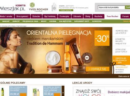 Nowość: sklep Yves Rocher na Kobieta.wieszjak.pl