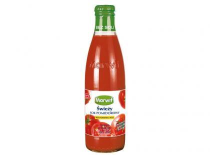 Nowość! - Świeży sok pomidorowy Marwit