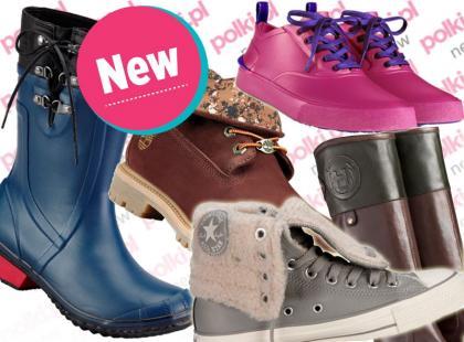 Nowości! 40 par butów na zimę od popularnych marek