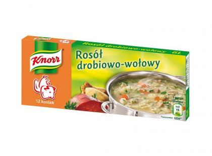 Nowości w ofercie bulionów w kostkach Knorr