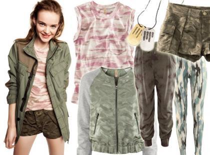 Nowości z H&M: wiosna w stylu moro