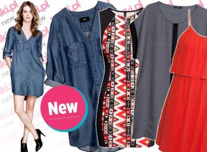 Nowości z sieciówek: modne sukienki na lato 2013