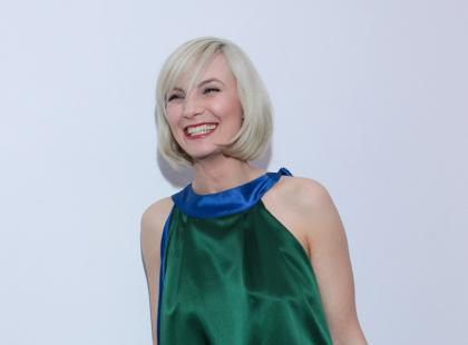 Nowy look aktorki Sylwii Gliwy - wiosna 2009