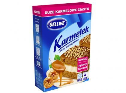 Nowy smak w ofercie Gellwe - ciasto Karmelek