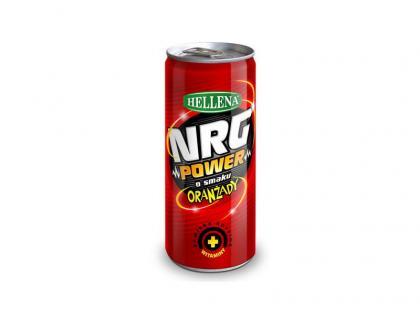 NRG POWER o smaku oranżady Hellena