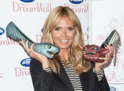 O takiej kolekcji butów możemy pomarzyć. Heidi Klum ma ich aż...