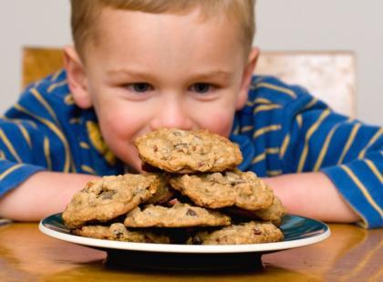 Ochrona przed otyłością - informacja na opakowaniu