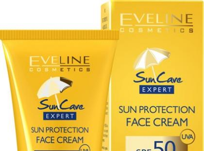 Ochronny krem do twarzy SPF 50 - Eveline Cosmetics